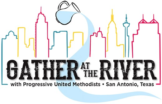 Gather at the River logo